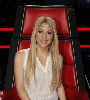 Shakira on 'The Voice,' June 10, 2013 -- NBC