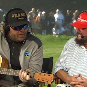 Toby Keith and Colt Ford interview during Round 3 of AT&T Pebble Beach