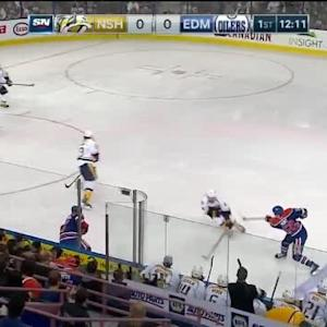 Ben Scrivens Save on Colin Wilson (07:57/1st)