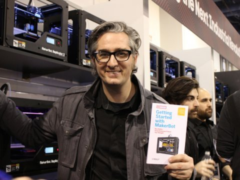 makerbot CEO Bre Pettis