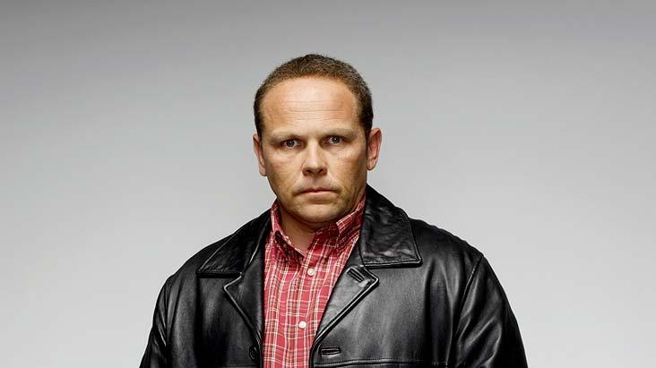Kevin Chapman stars as Freddi Cork in Brotherhood.