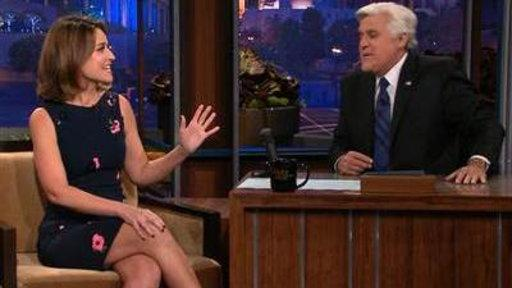 Savannah Explains 'fingergate' to Jay Leno