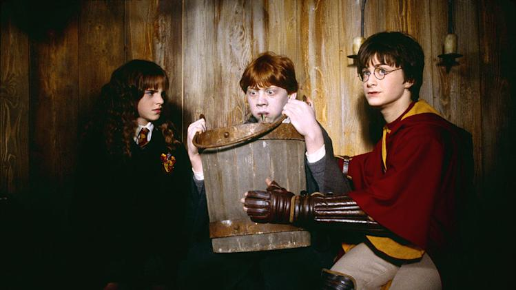Harry Potter and the Chamber of Secrets 2002 Warner Bros. Pictures Emma Watson Rupert Grint Daniel Radcliffe