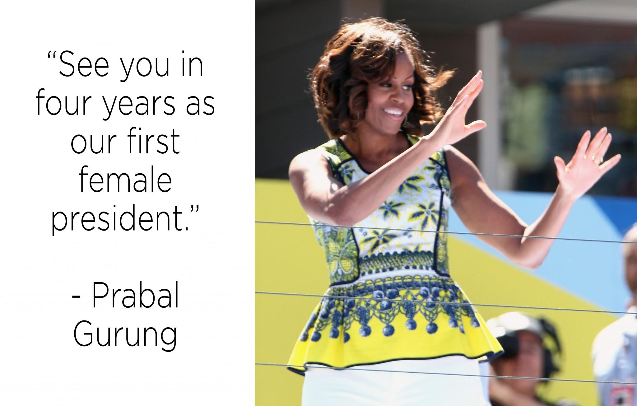 Fashion designers write beautiful thank you notes to Michelle Obama as she vacates the White House