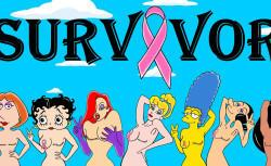 Amazing Awareness Campaign Transforms Cartoon Characters Into Breast Cancer Survivors