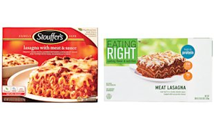 Stouffer&amp;#39;s vs. Eating Right 