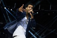 Drake performs at the &quot;Made In America&quot; music festival on Sunday, Sept. 2, 2012, in Philadelphia. (Photo by Charles Sykes/Invision/AP)