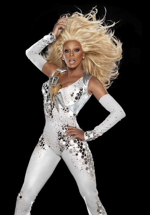 "RuPaul hosts ""RuPaul's Drag Race."""