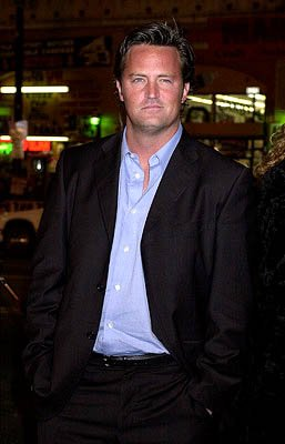 Matthew Perry at the Hollywood premiere of Warner Brothers' The Majestic
