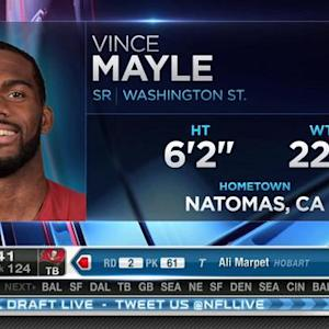 Cleveland Browns pick wide receiver Vince Mayle No. 123 in 2015 NFL Draft