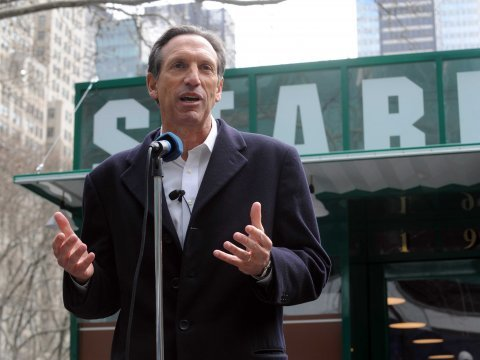 howard schultz starbucks