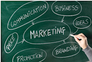 Bridging the Gap Between Traditional and Digital Marketing image Marketing Chalk Board
