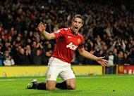 Robin van Persie took just 33 seconds to put Manchester United ahead
