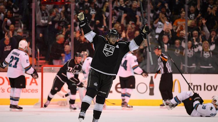 Kings beat Sharks 4-3 in OT on Kopitar's PP goal