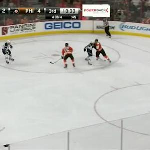 Steve Mason Save on Evander Kane (09:28/3rd)