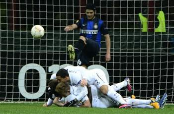 Inter 4-1 Tottenham (agg 4-4, aet): Spurs scrape through on away goals rule despite San Siro calamity