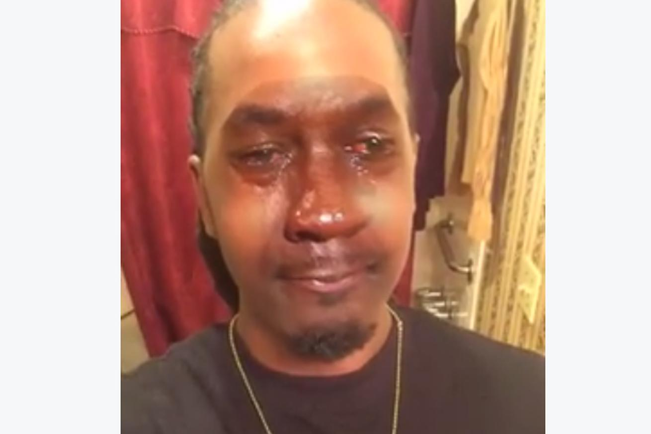 Oh no someone made a live-action Crying Jordan meme and it's so disturbing