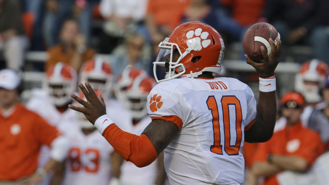 Boyd shines as No. 9 Clemson routs Virginia, 59-10