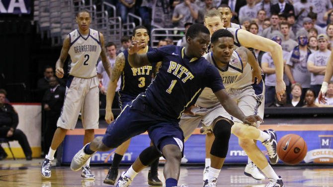 NCAA Basketball: Pittsburgh vs Georgetown