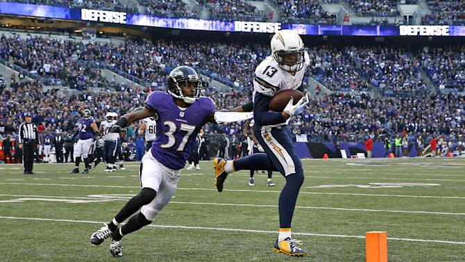Chargers take big step with win over Ravens