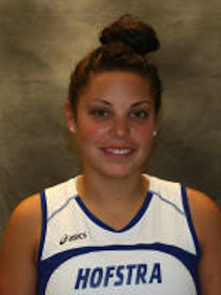 Krisha Giammarco stopped 513 shots as a high school junior -- GoHofstra.com