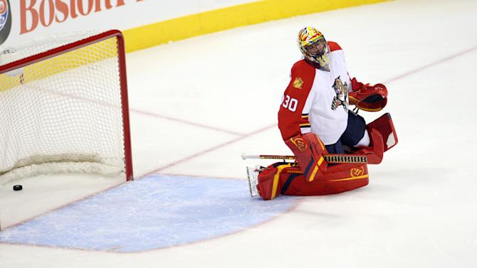 NHL: Florida Panthers at Winnipeg Jets