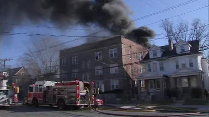 Careless smoking blamed for 4-alarm fire in Trenton