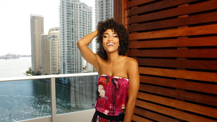 "Annie Ilonzeh stars as Kate Prince in ""Charlie's Angels."""