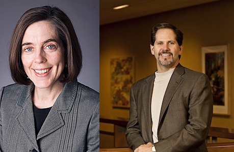 Kate Brown (D) vs. Knute Buehler (R)
