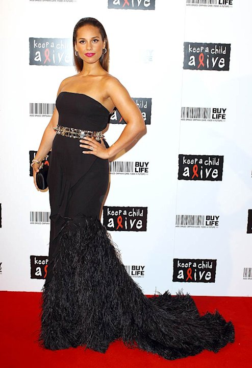 Alicia Keys K Eep Child Alive Ball