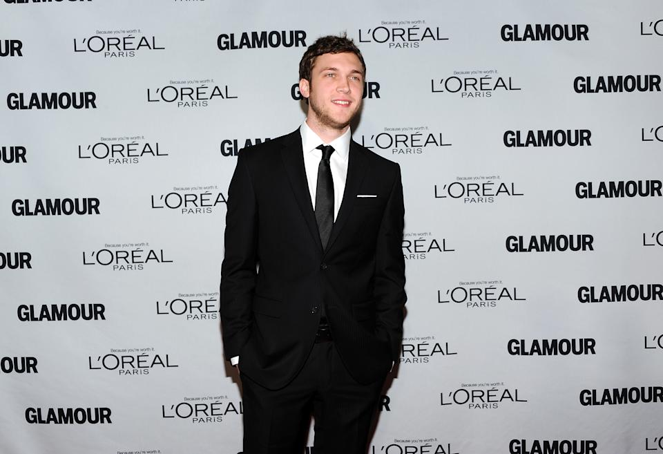 "Singer Phillip Phillips attends Glamour Magazine's 22nd annual ""Women of the Year Awards"" at Carnegie Hall on Monday Nov. 12, 2012 in New York. (Photo by Evan Agostini/Invision/AP)"