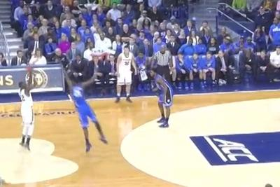 Jerian Grant is draining three-pointers from different area codesagainst Duke