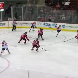 Keith Kinkaid Save on Scottie Upshall (03:11/3rd)