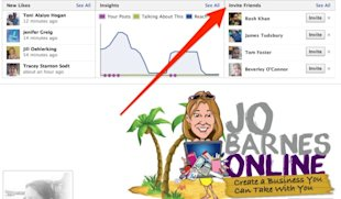10 Steps to Your First 1000 Fans on Facebook image Jo Barnes Online