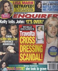 Portada John Travolta National Enquirer