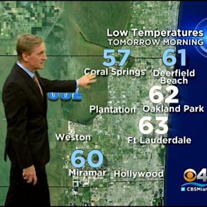 CBSMiami.com Weather @ Your Desk 12/17/13 11:30 PM