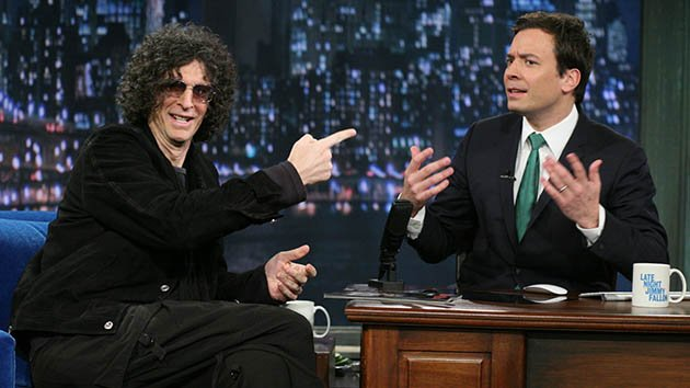 Howard Stern during an interview with Jimmy Fallon on March 17, 2011