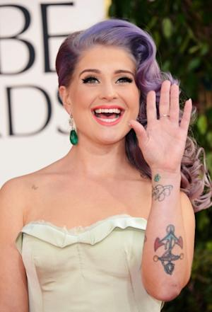 Kelly Osbourne arrives at the 70th Annual Golden Globe Awards held at The Beverly Hilton Hotel on January 13, 2013 -- Getty Images