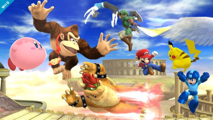 Smash Bros Wii U Update Offers 15 New Stages for 8-Player Mode