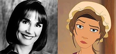Laurie Metcalf is the voice of Sarah in Disney's Treasure Planet