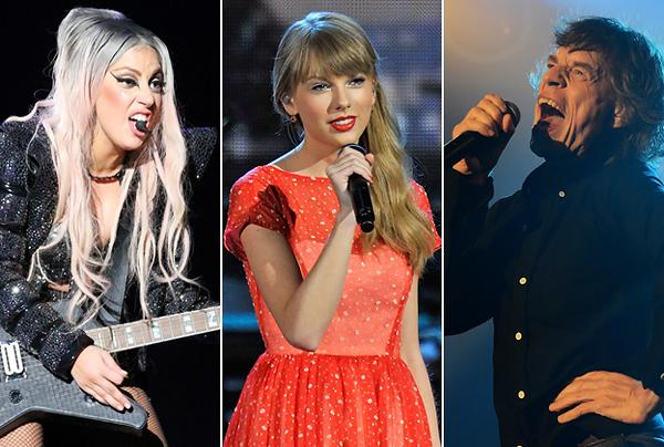 Taylor Swift, Lady Gaga, The Who Lead Packed 2013 Tour Season