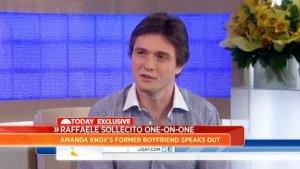 Amanda Knox's Former Boyfriend Raffaele Sollecito Appears on 'Today' (Video)