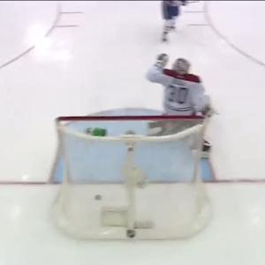 Michael Ryder scores over Budaj's glove