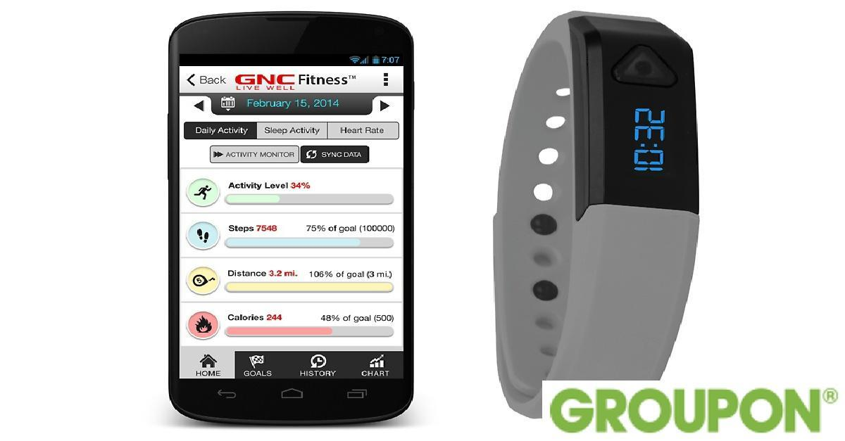 60% Off on GNC Bluetooth Activity Band