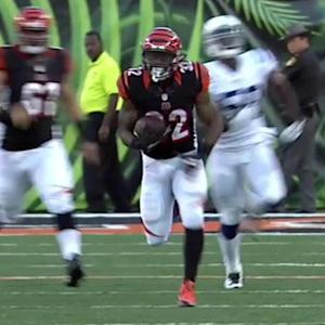 Cincinnati Bengals running back Jeremy Hill 41-yard run