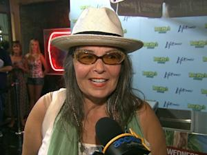 Roseanne Barr chats with Access Hollywood at the Chelsea Market in New York City on July 13, 2011 -- Access Hollywood