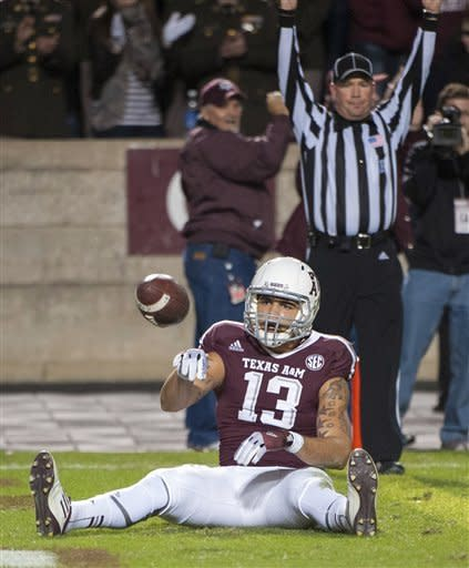 Manziel leads Aggies over Tigers 59-29