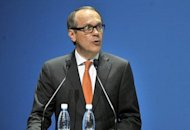 Nokia's outgoing Chairman of the Board Jorma Ollila speaks during the Annual General Meeting of Nokia Corporation in Helsinki, Finland. Ollila, who has been Nokia's board chairman since 1999, stepped down Thursday, saying he regretted not leaving the Finnish mobile phone maker he has worked for the past 27 years in better shape