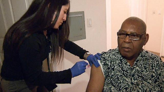Major flu outbreak affects nearly entire country