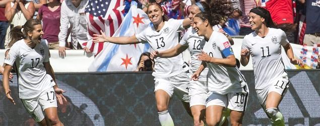 U.S. triumphs in World Cup final